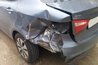 Кузовной ремонт Kia Rio в Воронеже