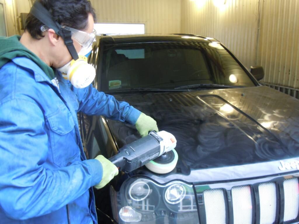 Тонкости полировки автомобиля