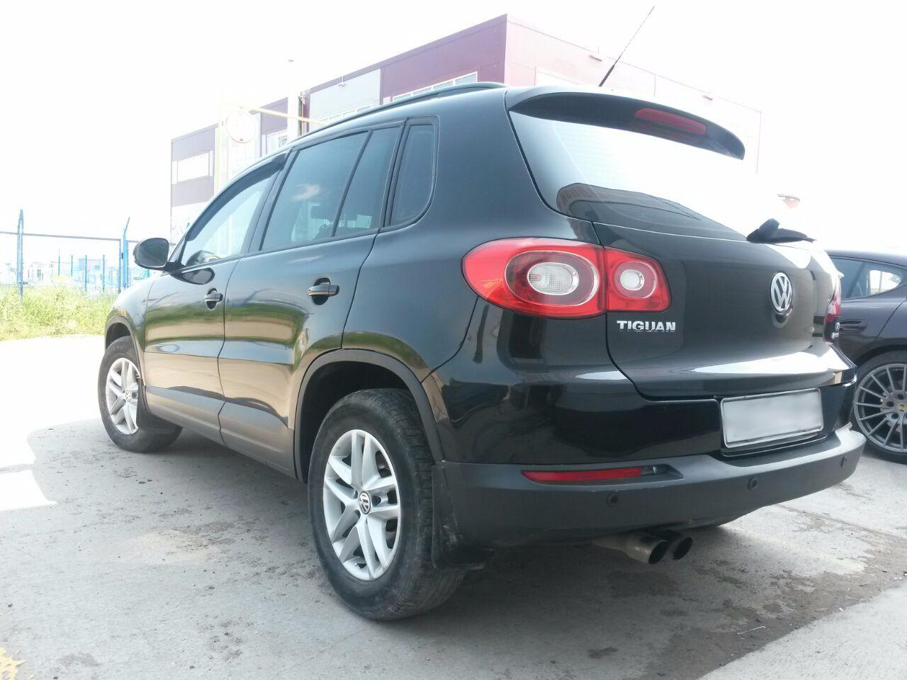 Кузовной ремонт Volkswagen Tiguan в Воронеже