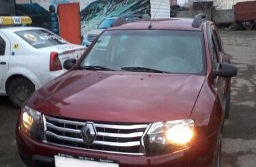 Кузовной ремонт Renault Duster в Воронеже