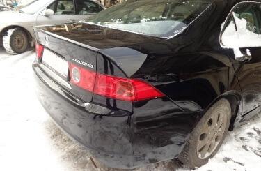 Кузовной ремонт Honda Accord в Воронеже
